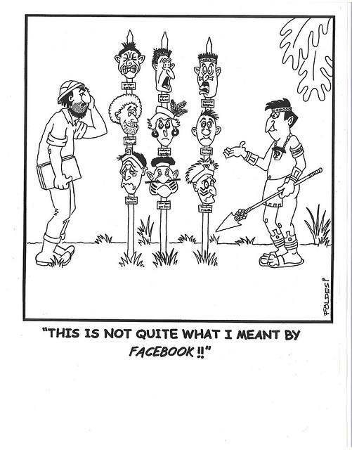 RAI International Anthropology Cartoon Contest 2nd Place