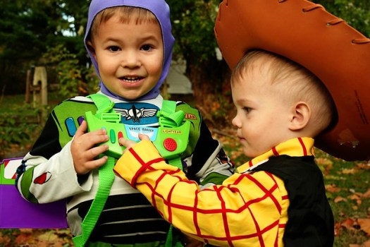 Buzz and Woody from Toy Story