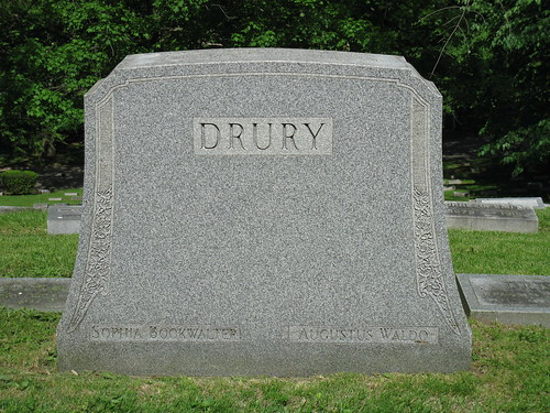 A. W. Drury grave