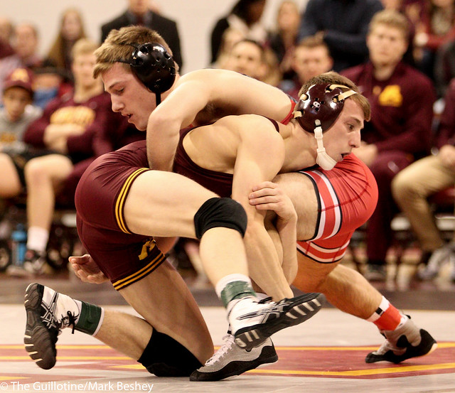 141 #12 Tommy Thorn (Minnesota) dec. #15 Luke Pletcher (Ohio State) 7-2