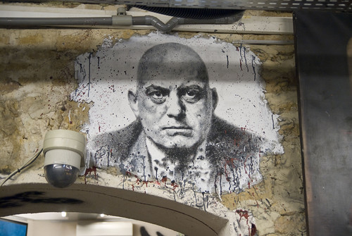 Aleister Crowley painted portrait _DDC7636