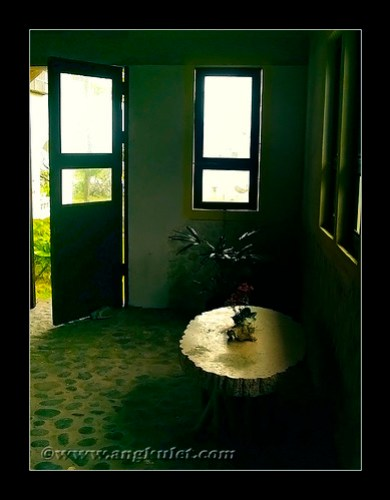 Nagarao Island Resort Pavilion interior