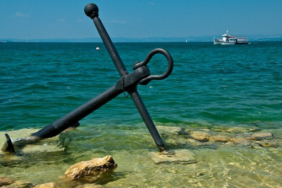 Lake Garda Anchor view