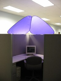 CubeShield - Cubicle Roof | Flickr - Photo Sharing!
