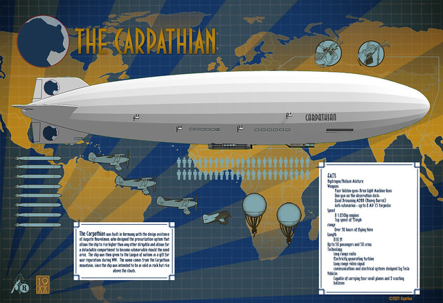 The Carpathian by Paul Roman Martinez