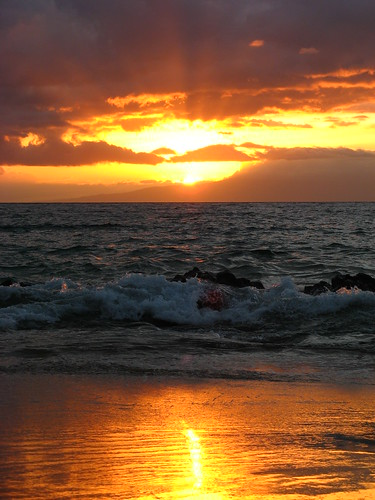 Kamaole Beach Sunset