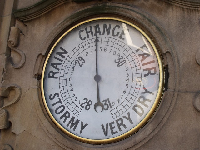 The Fighting Cocks Pub In Moseley Temperature Gauge