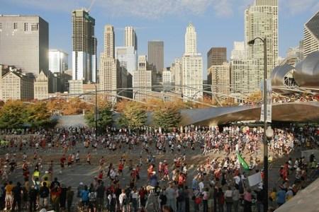 El Maratón de Chicago 2014