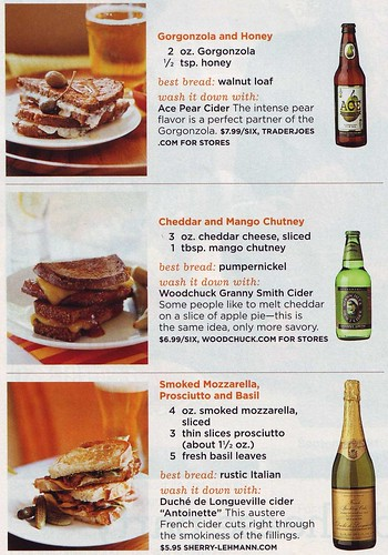 grilled cheeses - the details