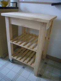 Kitchen Island cutting table | Flickr - Photo Sharing!