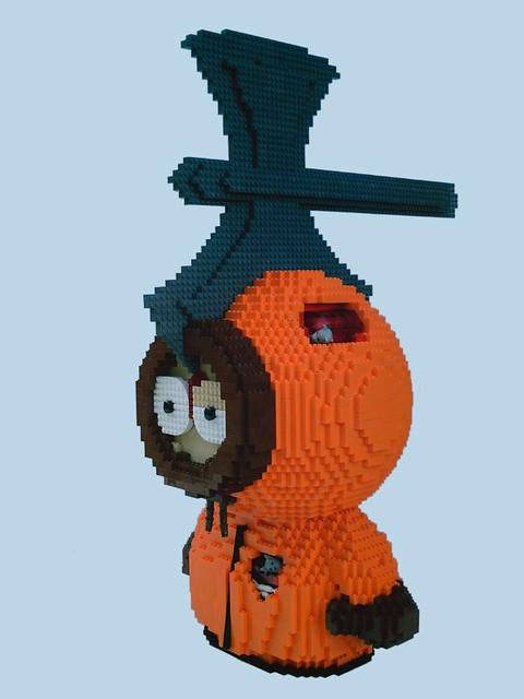 LEGO Kenny McKormick - killed by axe