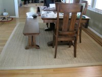 Dining Table: Rugs Under Dining Table Size