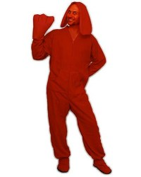 DIY Big Red Dog Clifford Costume for Adults | Flickr ...