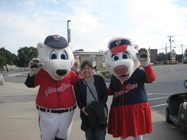 Pawtucket Red Sox Mascots
