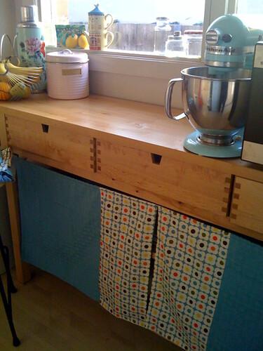 IKEA NORDEN Buffet & FÖRHÖJA Kitchen Cart - a gallery on ...