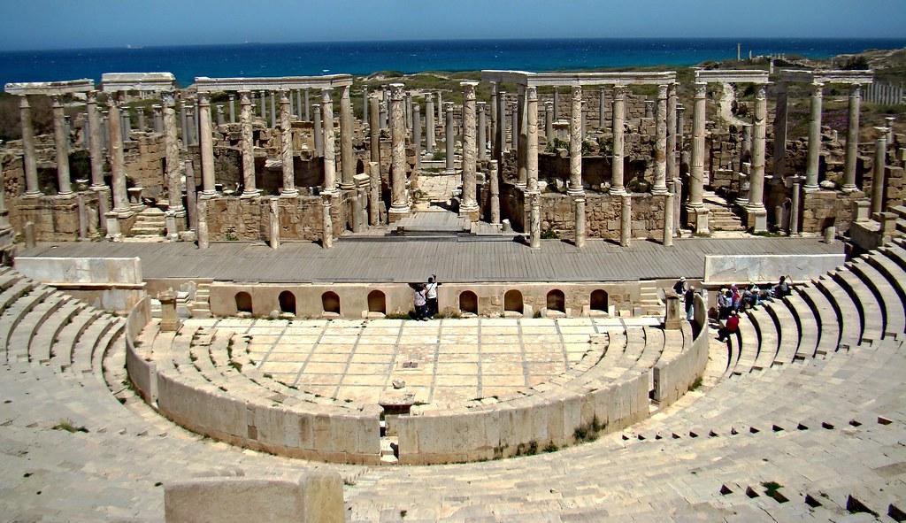 Teatro Leptis Magna Libia 07