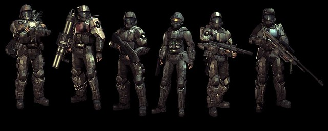 Halo Reach 3d Wallpaper Pc Halo 3 Odst Characters Halo 3 Odst By Djffny Flickr