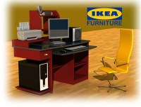 IKEA COMPUTER TABLE | Flickr - Photo Sharing!