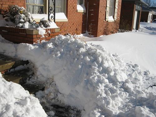 Snow Shoveled A Bit