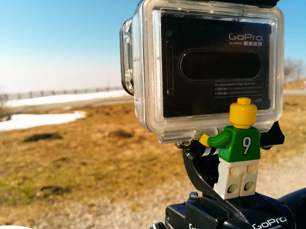 Camera rolling @ gaisberg spitz