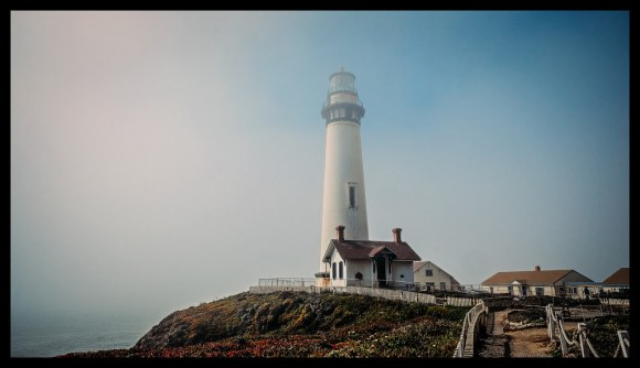 Misty Saturday - Pigeon Point Lighthouse - 2014