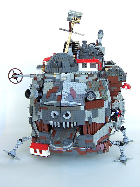 Howl's Moving Castle Front View
