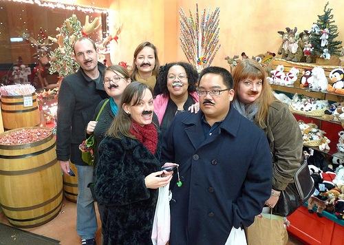 Mustache gang