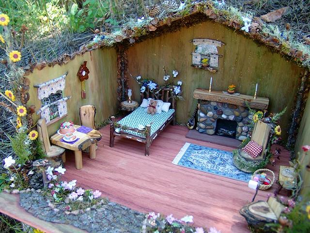 Handmade Fairy House Flickr Photo Sharing
