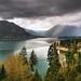 Olympic NP Through Lake Cushman Gap