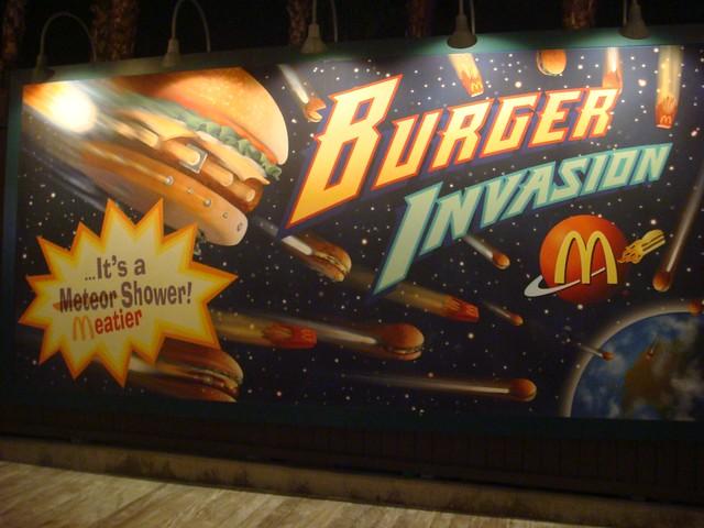 Burger Invasion - McDonalds in DCA