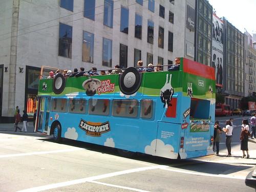 Ben & Jerry's bus