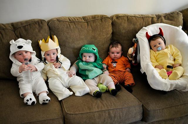Bébés déguisés pour Halloween (le ridicule ne tue pas ;-))