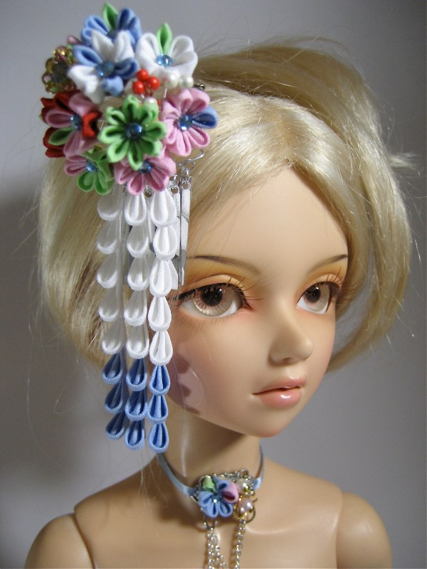 Flower Japanese Hair Ornaments