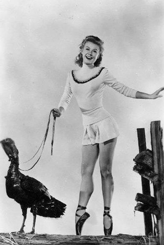 Vera Ellen Thanksgiving