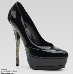 Gucci Division High Heel Platform Pump