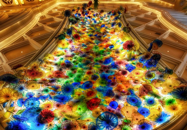 A Sea of Glass  The Chihuly Exhibit at the Bellagio in Vegas  Flickr  Photo Sharing