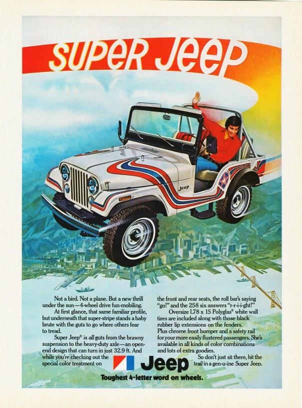 1973 Jeep 'Super Jeep'