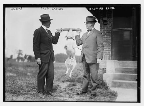 Fred Schnell [and] Ardolph Kline (LOC)