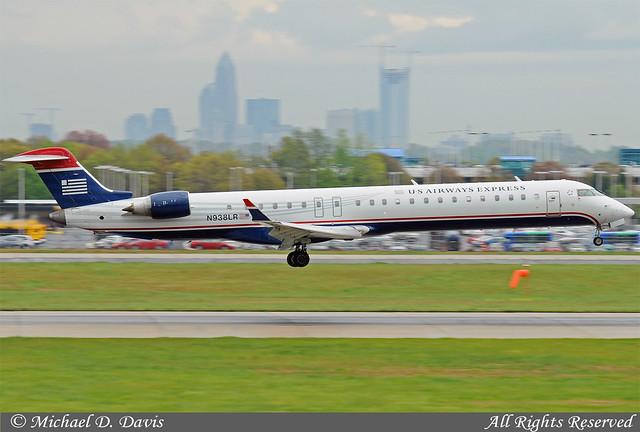 US Airways Express Mesa Airlines Canadair CRJ900