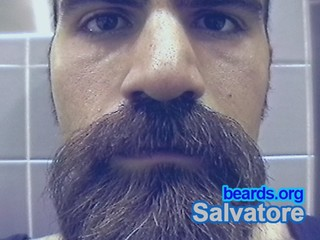 Salvatore: going goatee, part 21