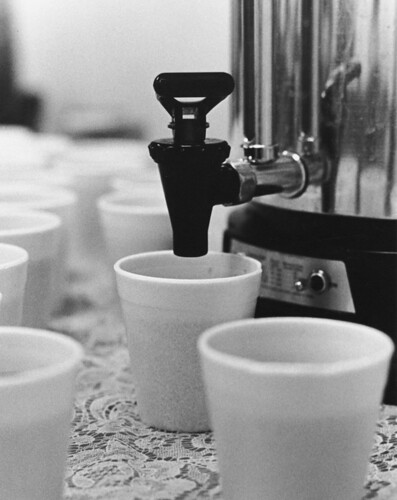 Photograph of Coffee Break at National Archives and Records Service (NARS) Conference in the Late 1970s