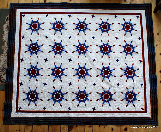 Radiant Star, full quilt