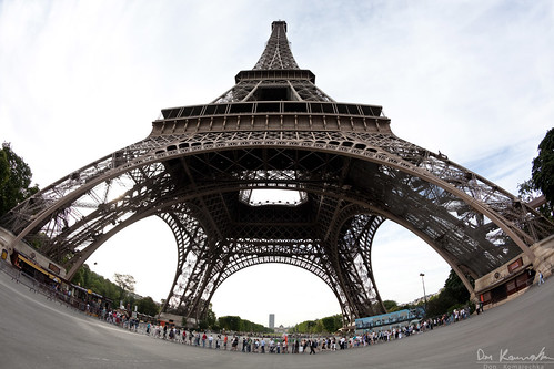 Fisheye: Eiffel Tower