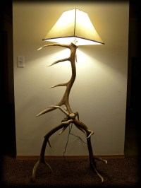 3 elk antler floor lamp - 2 | Flickr - Photo Sharing!