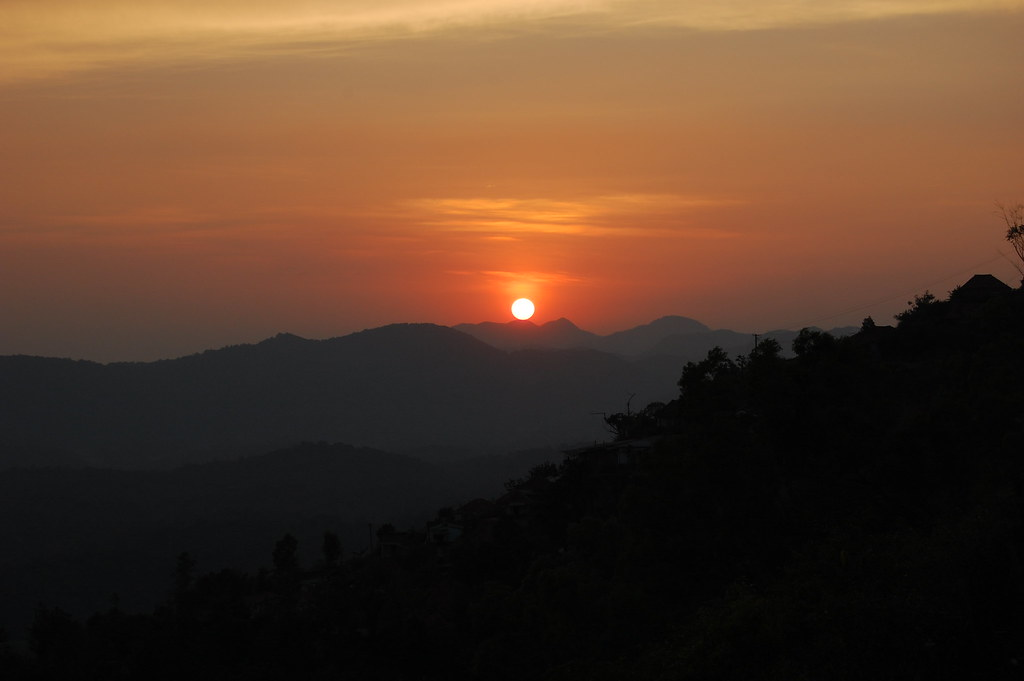 Sunset at Madikeri, Coorg, Karnataka
