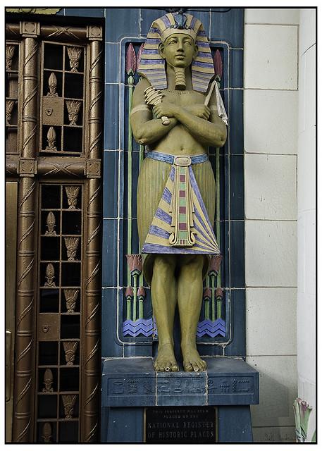 Reebie Building  Stand Like an Egyptian