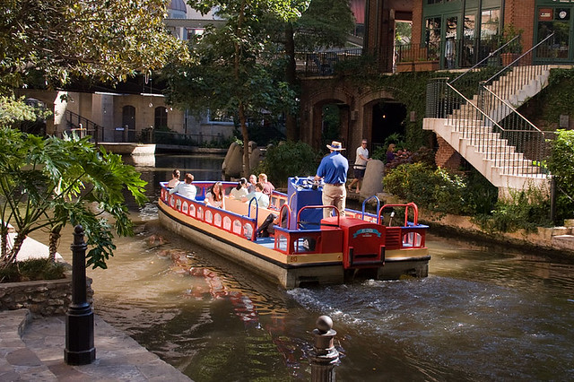 San Antonio River Tour Boat