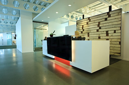 Weber Thompson Reception Desk  Flickr  Photo Sharing