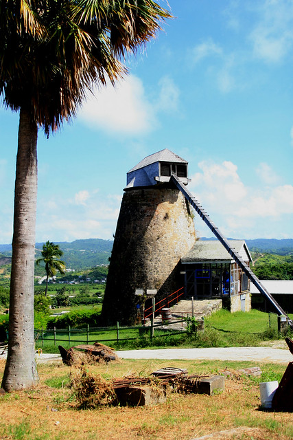 Wind Mill Barbados One Of The Many Wind Mills On The