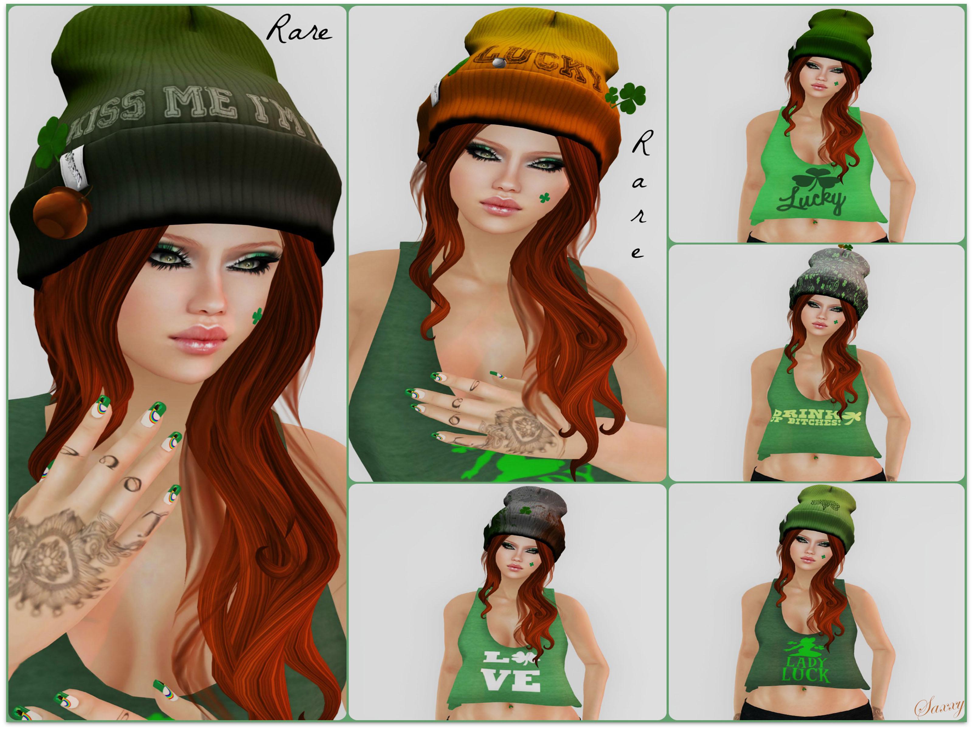 Irish Beanie Collage